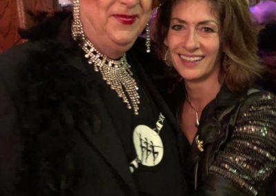 Selfie med Charlotte Schramm på Swing Inn